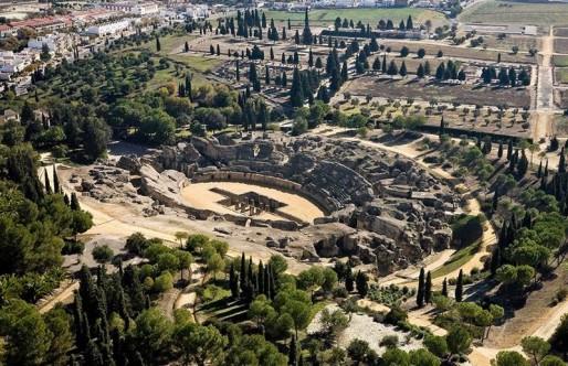 El Conjunto Arqueológico de Itálica alcanza el máximo histórico de visitas