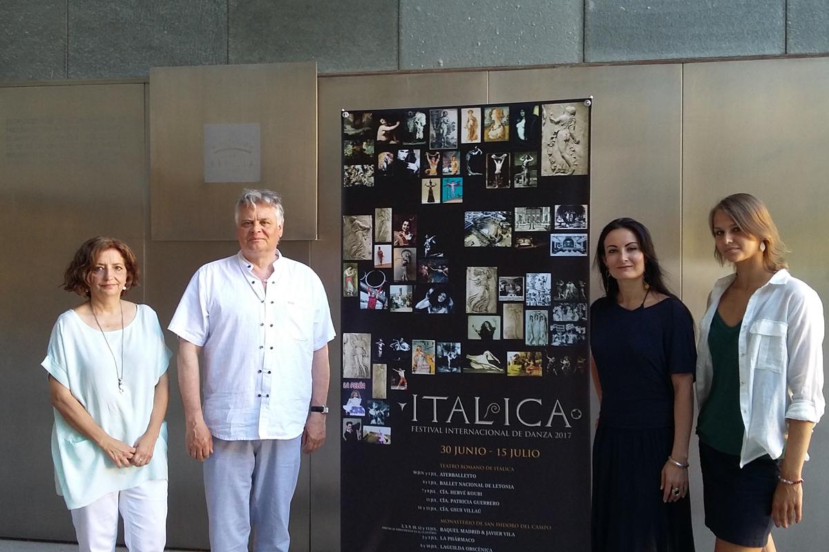 Rueda de prensa del Ballet Nacional de Letonia