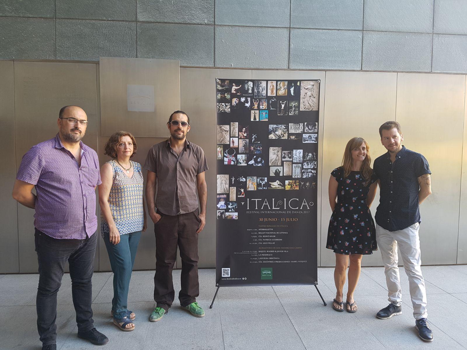 Rueda de prensa de Laguilda Obscénica