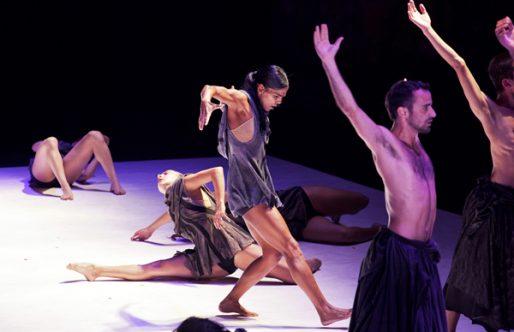 Los dos pasos de Kibbutz Contemporary Dance Company en el Festival de Itálica