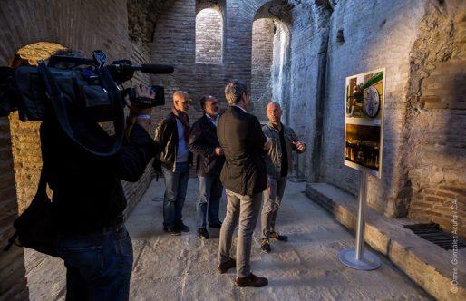 La exposición 'Objetivo Itálica' nos regala nuevos ángulos desde los que mirar el Conjunto Arqueológico