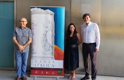 La bailaora María Moreno y Teatro del Velador cierran la programación del Festival Internacional de Danza de Itálica 2021